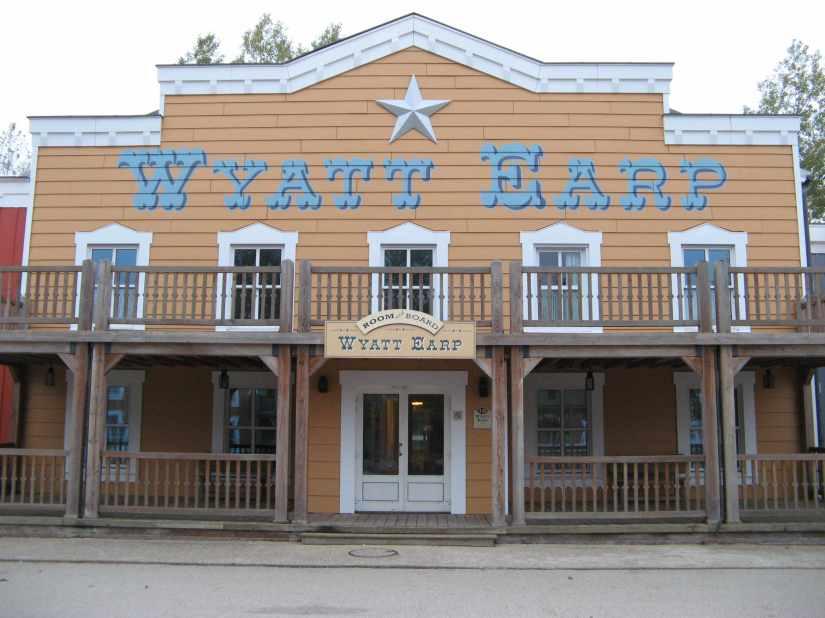 Wyatt Earp Room Exterior